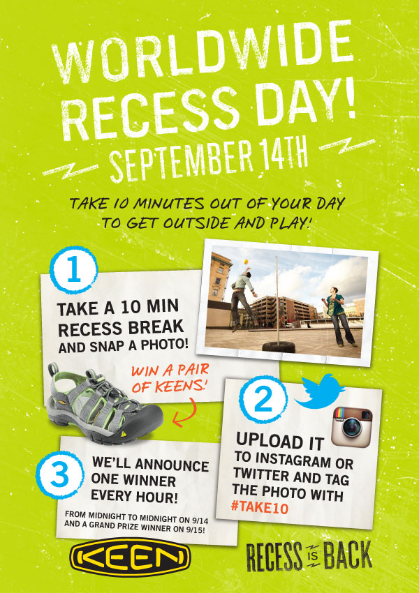 Worldwide Recess Day with Keen