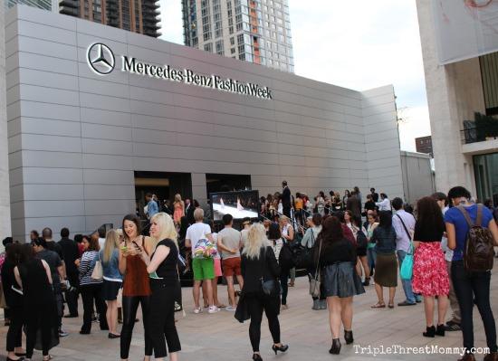 Mercedes Benz New York Fashion Week | TripleThreatMommy.com