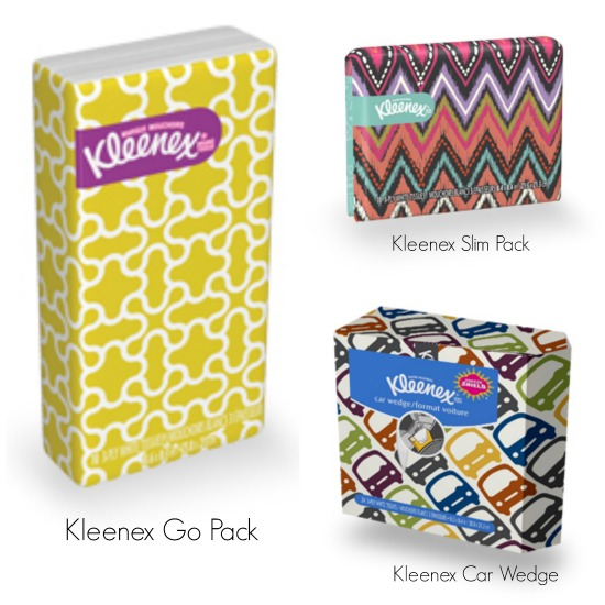 Kleenex with Sneeze Shield Technology | Triple Threat Mommy