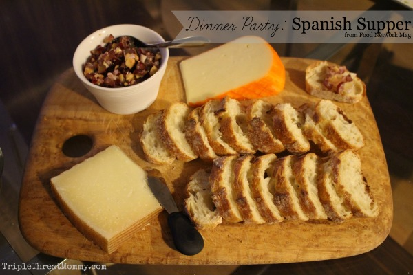 Dinner party menu spanish supper from food network magazine forumfinder Gallery