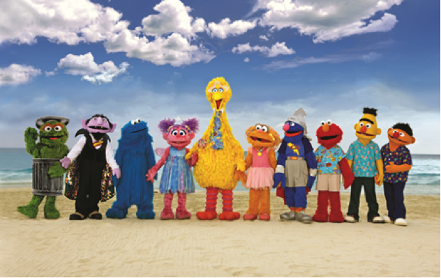 Beaches and Sesame Street Partnership