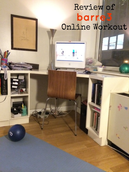 Review of Barre3 Online Workout