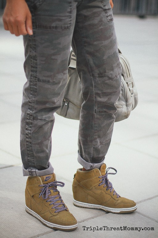 How to Wear Camouflage Pants | TripleThreatMommy.com