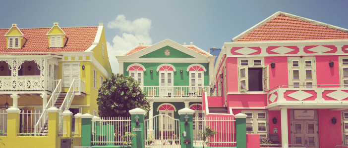 Curacao Photos -  Willemstad Architecture 750x300