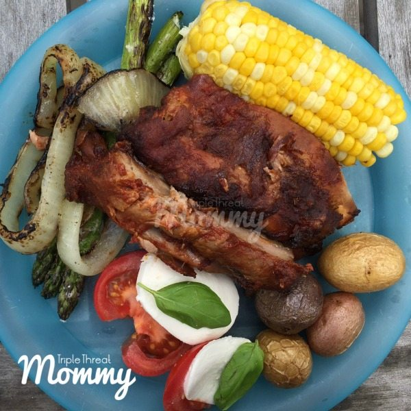 Easy Summertime BBQ Meal + Easy Slowcooker BBQ Ribs Recipe