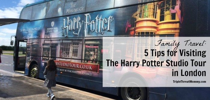 5 Tips for Visiting The Harry Potter Studio Tour
